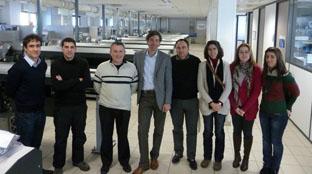 Visita institucional a UDC, INIBIC / CHUAC Euroteknika Centro Tecnolóxico en Francia